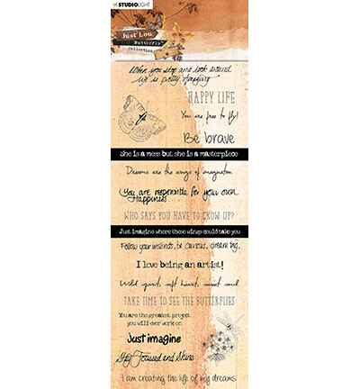 Studiolight, Chipboard , Butterfly Collection nr. 08 - CBJL08