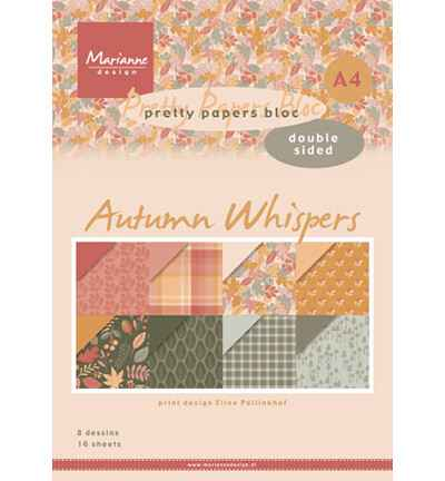 Marianne Design, Paperpad, Eline's Autumn Whispers - PB7059