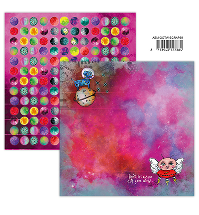 Studiolight, Art by Marlene, Scrappapier, Out of this World, nr. 59 - ABM-OOTW-SCRAP59