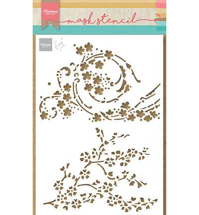 Marianne Design, Craft Stencil , Tiny's Blossom - PS8084
