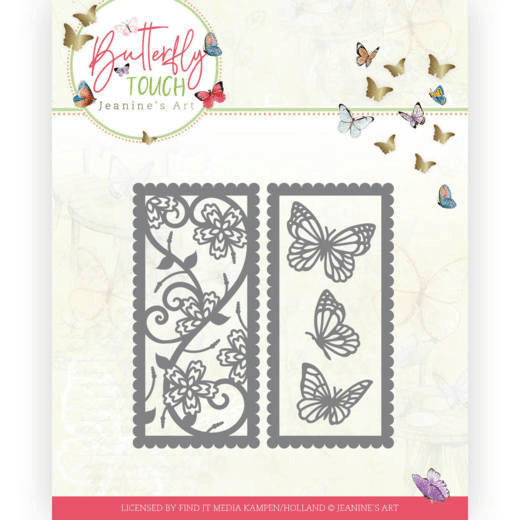 Jeanine's Art, Snijmal, Butterfly Touch, Butterfly Mix and Match - JAD10123