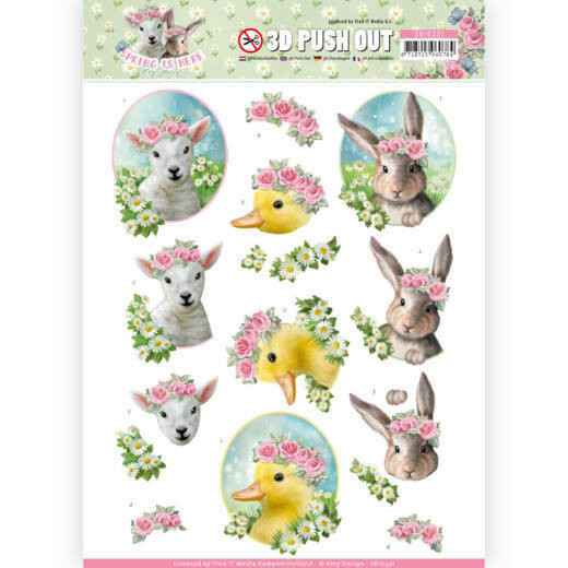 Amy Design, 3D Push Out, Spring is Here - SB10331