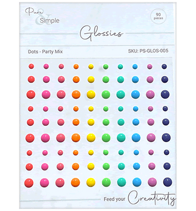 Julie Hickey Designs, Glossies, Dots, Party Mix - PS-GLOS-005