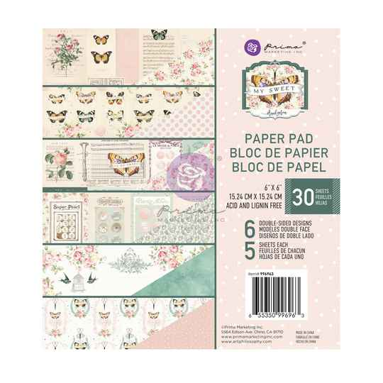 Prima Marketing, Paperpad, My Sweet, 6x6 inch - 996963