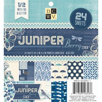 DCWV, Paperpad,  The Juniper Berry Stack