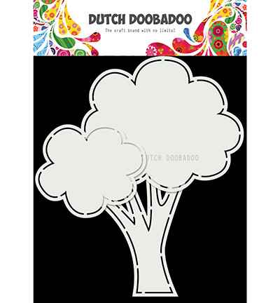 Dutch Doobadoo, Card Art, Tree - 470.713.853