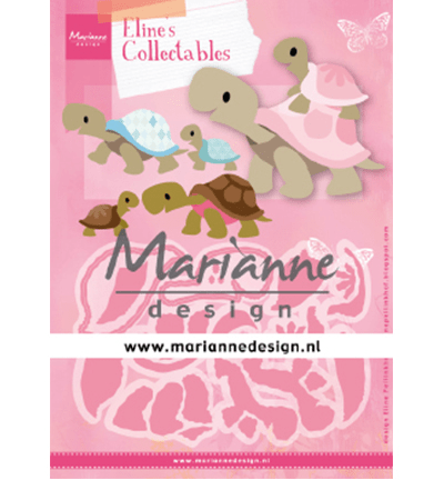 Marianne Design, Collectable, Eline's Turtles - COL1480