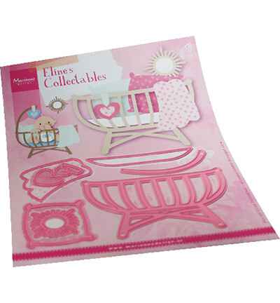 Marianne Design, Collectable , Eline's Baby Cot  - COL1495
