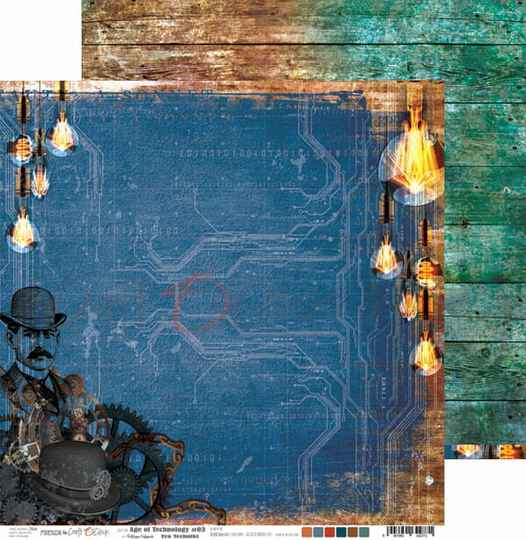 Craft O Clock, Scrapbookvel, Age of Technology 03