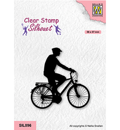 Nellie Snellen, Clear Stamp, Cycling - SIL096