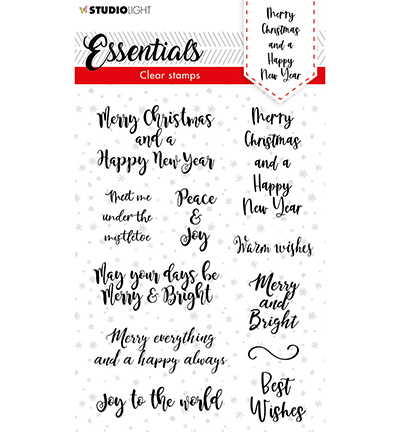Studiolight, Clear Stamp, Christmas, Handletter, Merry Christmas- SL-ES-STAMP88