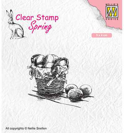 Nellie Snellen, Clear Stamp, Easter Eggs - SPCS012