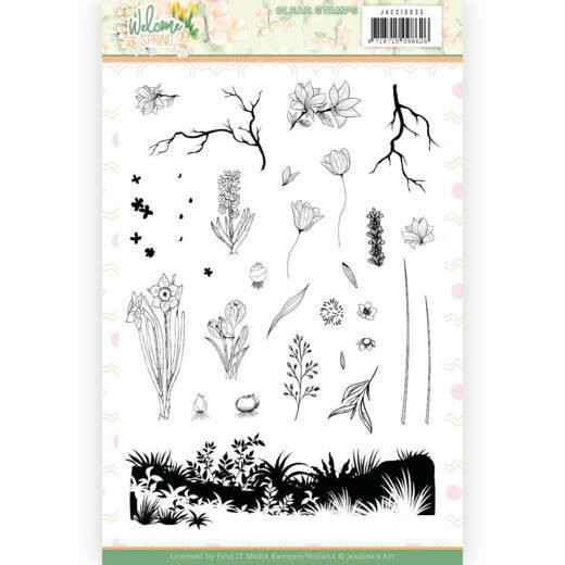 Jeanine's Art, Clear Stamp, Welcome Spring - JACS10035
