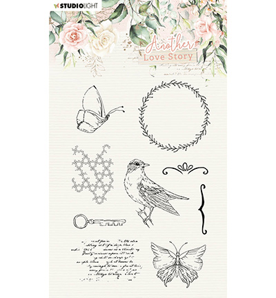 Studiolight, Clear Stamp, Another Love Story, Romantic Elements - SL-ALS-STAMP03