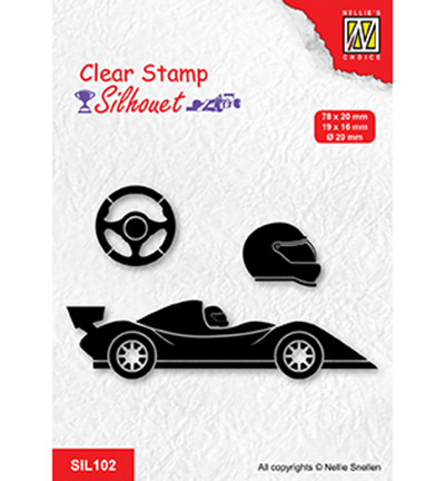 Nellie Snellen, Clear Stamp, Formula One, Serie: 1 - SIL102