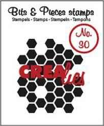 Crealies, Clear Stamp, Bits & Pieces, Honeycomb -  CLBP30