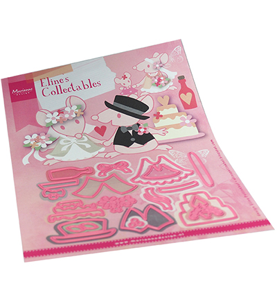Marianne Design, Collectable , Eline's Wedding Accessoires  - COL1491