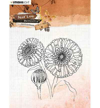 Studiolight, Clear Stamp , Butterfly Collection nr. 16 - STAMPJL16