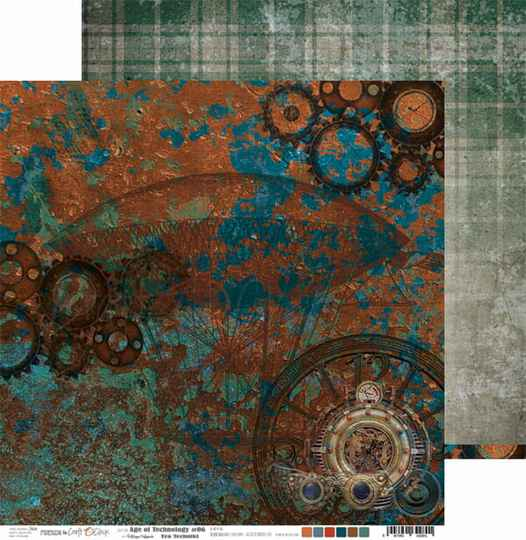 Craft O Clock, Scrapbookvel, Age of Technology 06