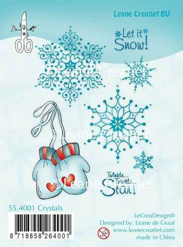 Leane Creatief, Clear Stamp, Crystals - 55.4001