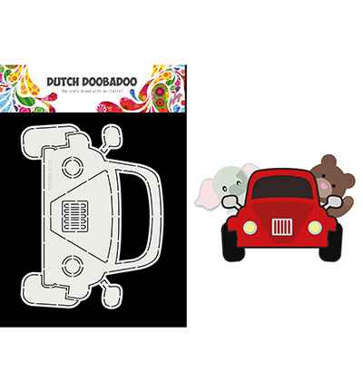Dutch Doobadoo, Card Art, Built Up, Car - 470.713.862