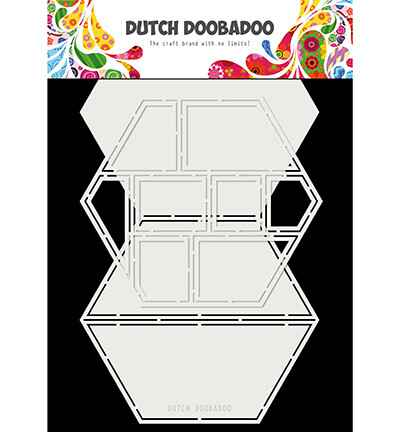 Dutch Doobadoo, Card Art, Easel Card, Hexagon - 470.713.850