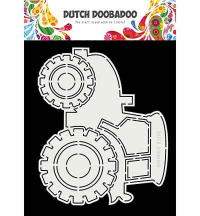 Dutch Doobadoo, Card Art, Tractor - 470.713.852