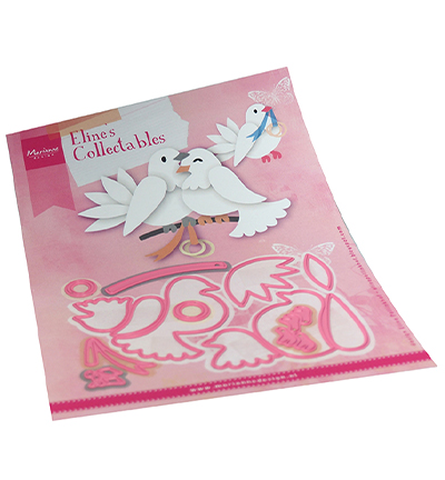 Marianne Design, Collectable , Eline's Pigeons  - COL1492