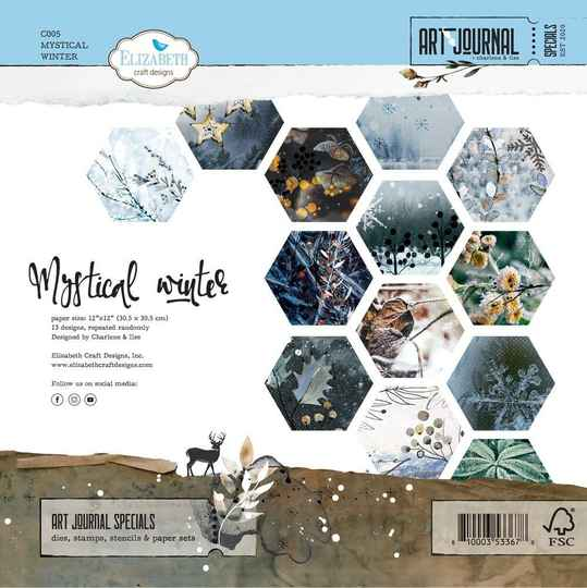 Elizabeth Craft Design, Paperpad, Mystical Winter - C005