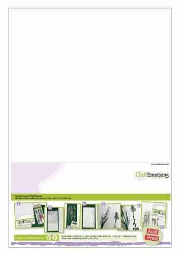 CraftEmotions, EasyConnect Craft Sheets, Dubbelzijdig klevend, A4 formaat - 119491/0004