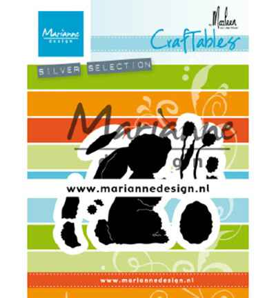 Marianne Design, Craftable, Bunny by Marleen - CR1498