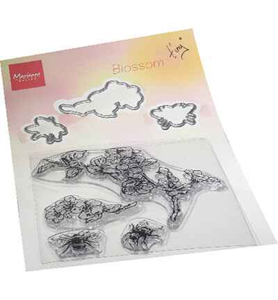 Marianne Design, Clear Stamp + Die , Tiny's Blossom - TC0881