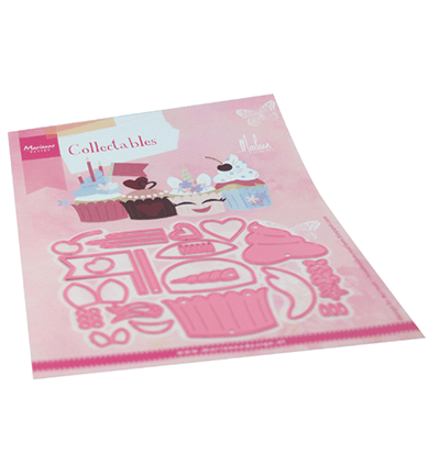 Marianne Design, Collectable , Cupcakes by Marleen  - COL1481