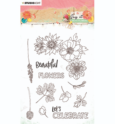 Studiolight, Clear Stamp, Say it with Flowers, nr. 526 - SL-SWF-STAMP526