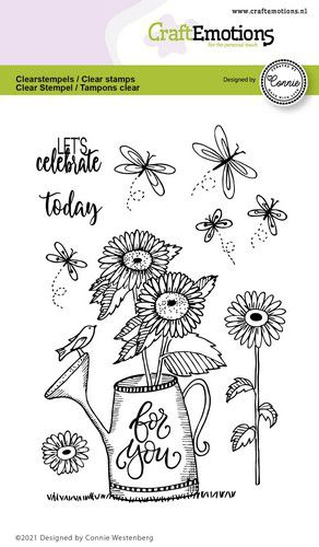CraftEmotions, Clear Stamp, Gieter, For You - 130501/2704