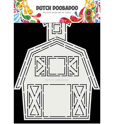 Dutch Doobadoo, Card Art, Barn - 470.713.851