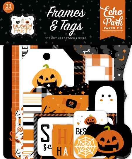 Echo Park, Frames & Tags, Halloween Party - HPA250025