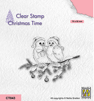 Nellie Snellen, Clear Stamp, Christmas Time, Celebrating Christmas - CT043