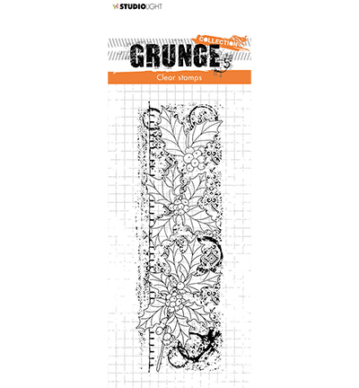 Studiolight, Clear Stamp, Grunge Collection, Christmas Branches - SL-GR-STAMP99