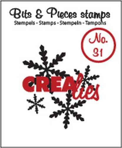 Crealies, Clear Stamp, Bits & Pieces, Snowflake 2  - CLBP31