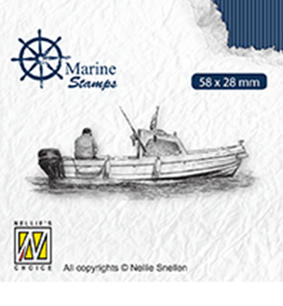 Nellie Snellen, Clear Stamp, Marine, Maritime Boat - VCS001