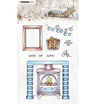Studiolight, Winter Charm, Clear Stamp, Nr. 490 - STAMPWC490