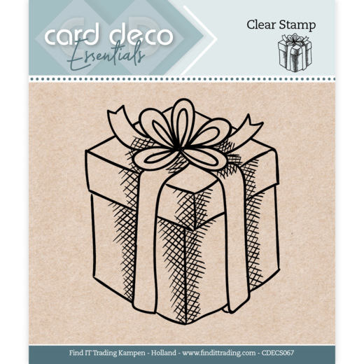 Card Deco, Clear Stamp, Presents - CDECS067