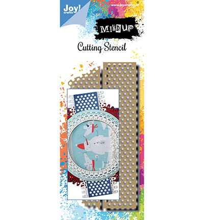 JoyCrafts, Snijmal, Noor Design, Mixed Up, Tape - 6002/1564