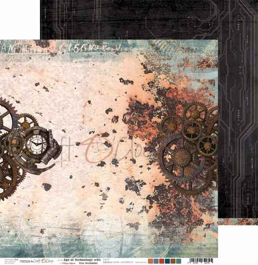 Craft O Clock, Scrapbookvel, Age of Technology 05
