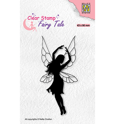 Nellie Snellen, Clear Stamp, Fairy Tale, Dancing Elf 2 - FTCS034