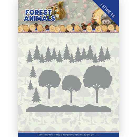 Amy Design, Forest Animals, In the Forest - ADD10232