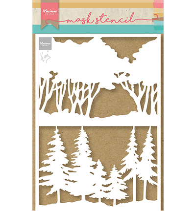 Marianne Design, Mask Stencil, Tiny's Forest - PS8100