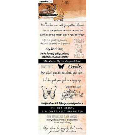 Studiolight, Chipboard , Butterfly Collection nr. 07 - CBJL07