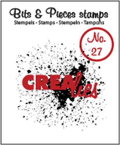 Crealies, Clear Stamp, Bits & Pieces, Grunge - CLBP27